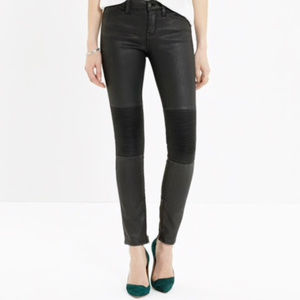 Madewell  Skinny Skinny Zip Racetrack Jeans
